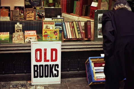 Old Books - photo by Walt Jabsco