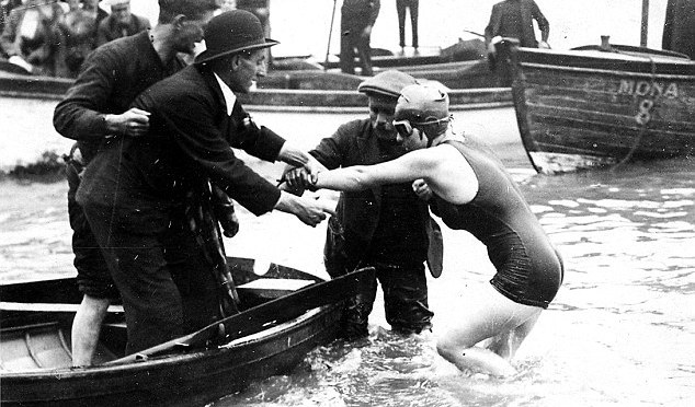 Celebrating Kathleen Thomas – the first person to swim the Bristol Channel