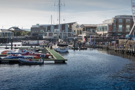 harbour in Cardiff Bay