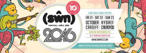 Swn Festival 2016 – tenth anniversary! Line up and tickets info | We