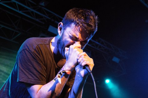 Lead singer of Max Raptor, Will Ray performing in Tramshed, Cardiff on Saturday 22nd October.