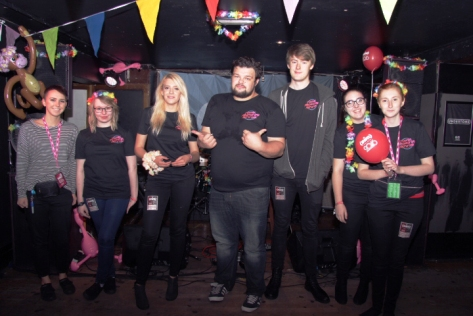 Young Promoters Network working their own stage at Undertone on Sunday 23rd October.