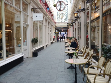 Cafe Barker, Castle Arcade