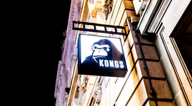 Kongs Cardiff: arcade games in an underground bar