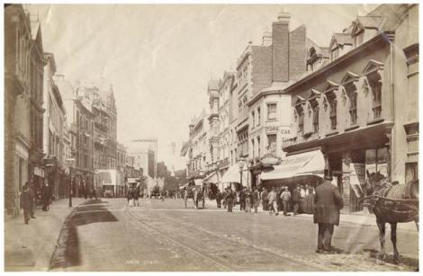 High Street, Cardiff, c.1893 (People's Collection Wales)