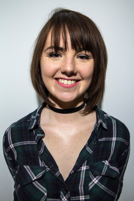 Niamh Doyle, 20, student at USW and radio presenter at Dragon Media