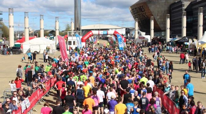 Cardiff Bay 10k … run Cardiff, run!