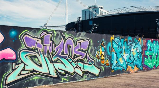 RIP Cardiff's Millennium Walk graffiti wall