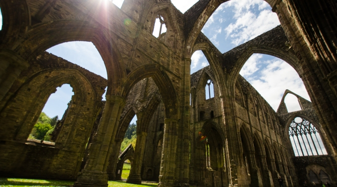 Not too shabby, Tintern Abbey!